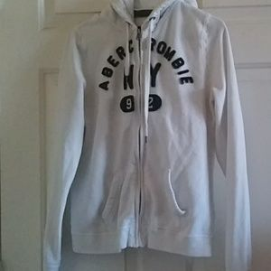 Abercrombie hoodie sweater size L